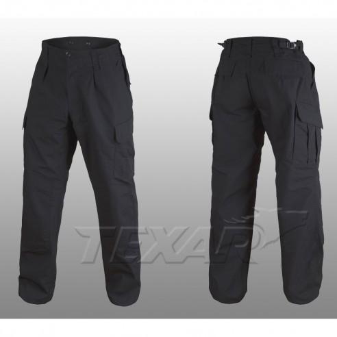 TEXAR - WZ10 pants ripstop - Black
